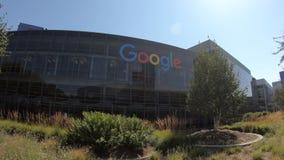 Google acquartiera la California video d archivio