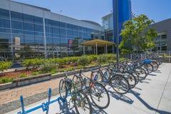 Google acquartiera le bici Fotografie Stock