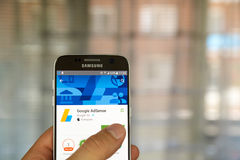 Google Adsense app Στοκ Εικόνες