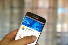 Google Adsense app Royalty Free Stock Images