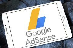 Google AdSense logo Obraz Stock