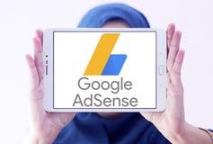 Google AdSense logo Obrazy Royalty Free