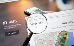 Google Adsense mobile application. royalty free stock image