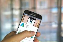 Google AdWords app Στοκ Φωτογραφίες