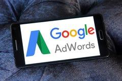 Google AdWords logo Zdjęcie Stock