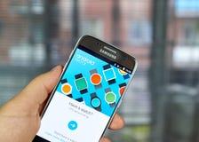 Google Android klädersmartwatch Royaltyfria Foton