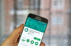 Google Android ledningerfarenhet Royaltyfri Foto