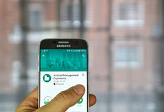 Google Android ledningerfarenhet Arkivbild