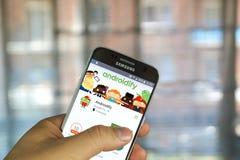 Google Androidify app Obraz Royalty Free