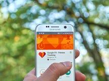 Google app apto Foto de archivo libre de regalías