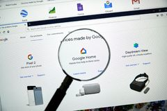 Google-Ausgangslogo stockbilder