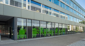 Google biuro w Zurich Zdjęcia Royalty Free
