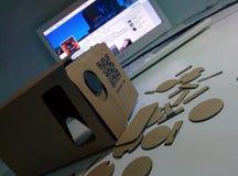 Google Cardboard Stock Image