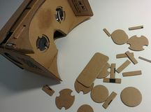 Google Cardboard stock photo