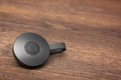Google Chromecast Dongle Zdjęcie Royalty Free