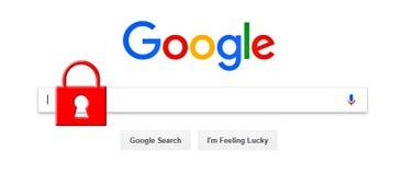 Google Commerciale, contenuto illustrazione vettoriale