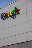 Google Corporation Building sign. Royalty Free Stock Photo