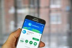 Google Crowdsource app Stock Image