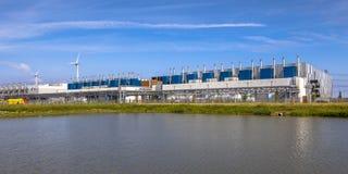 Google Datacenter Eemshaven stockbilder