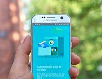 Google doc. app fotografía de archivo libre de regalías