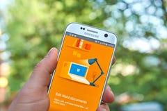 Google doc. app fotos de archivo libres de regalías