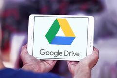 Google Drive logo Stock Images