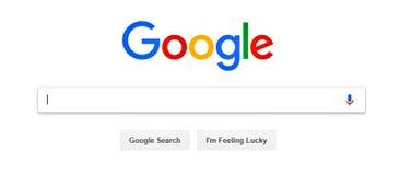 Google E imagem de stock royalty free