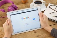 Google es un americano multi Foto de archivo libre de regalías
