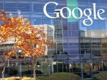 Google företags högkvarter Royaltyfria Bilder