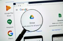 Google fahren Logo stockfoto