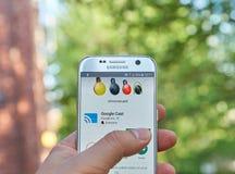 Google Gegoten app Royalty-vrije Stock Afbeeldingen