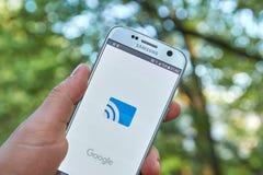 Google Gegoten app Stock Afbeeldingen