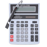 Google Glass and calculator Royalty Free Stock Photo
