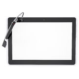 Google Glass and tablet PC Royalty Free Stock Photos