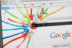 Google+ - Google plus - het nieuwe sociale netwerk Stock Foto's
