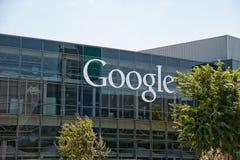 Google-Hauptsitze lizenzfreie stockfotografie