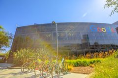 Google headquarters Icon royalty free stock image