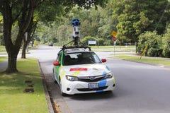 Google-het Voertuig van de Straatmening Stock Foto's