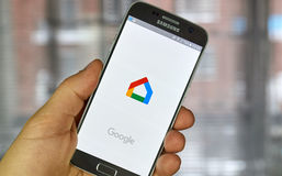 Google Home application Royalty Free Stock Photos