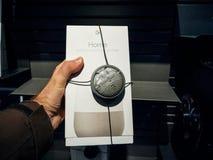 Google Home smart speaker buy during Black Friday Stock Images