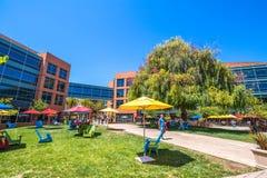 Google-hoofdkwartier Mountain View royalty-vrije stock afbeelding