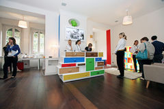 Google House opening, Milano Stock Photo