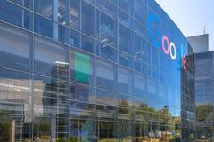 Google Icon Facade stock image