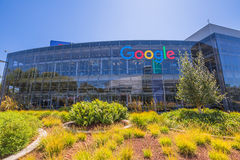 Google Icon Facade Royalty Free Stock Images