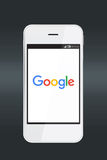 Google icon on a smartphone screen. Stock Images