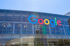 Google-Ikonen-Zeichen lizenzfreies stockfoto