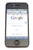 google iphone Obrazy Royalty Free