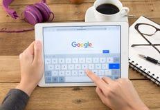 Google jest amerykaninem wielo- zdjęcie stock