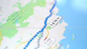 Google kartografuje zastosowanie na Jabłczanym iPad ekranie zdjęcie wideo