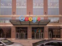 Google Korporacyjny kampus w Chicago obrazy stock